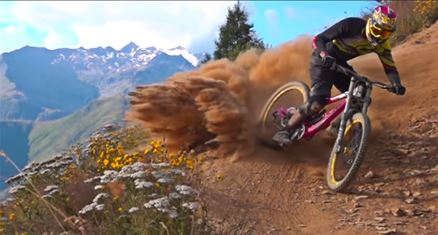 downhill-biking